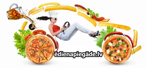 ēdiena piegāde Rīgā